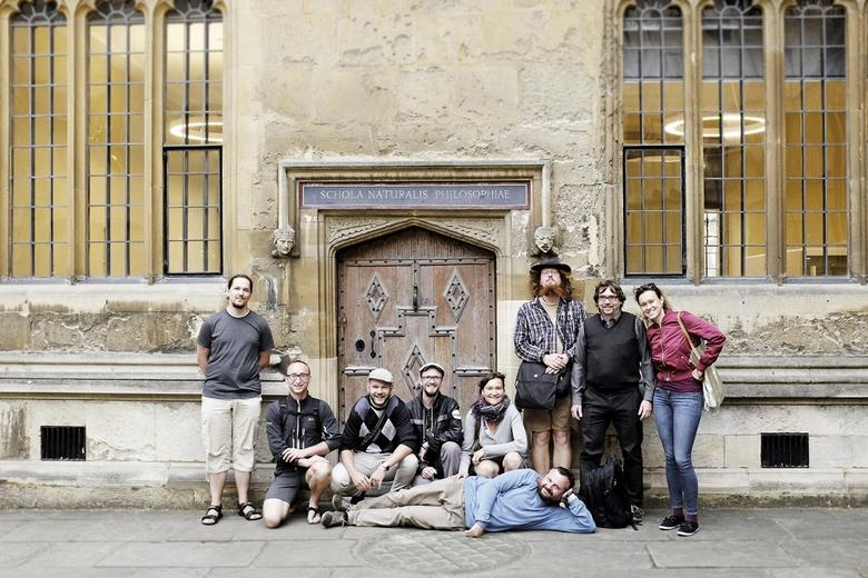Visitors from Charles University