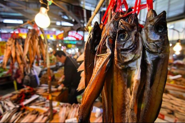 A fish market in Seoul, South Korea. Rodrigo Oyanedel, Author provided