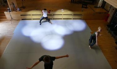 Images from 'Exploring the Rhythm: the Relationship of music, dance and the practice of Choreography'