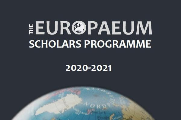 Cover Image for the Europaeum Scholars Programme 2020/21