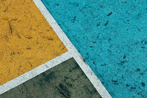 abstract image of three colours intersecting