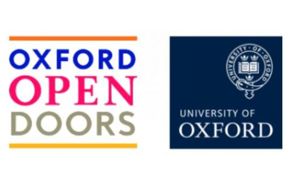 open doors logo, oxford university logo