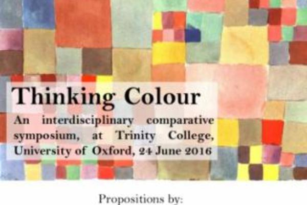 thinking colour poster