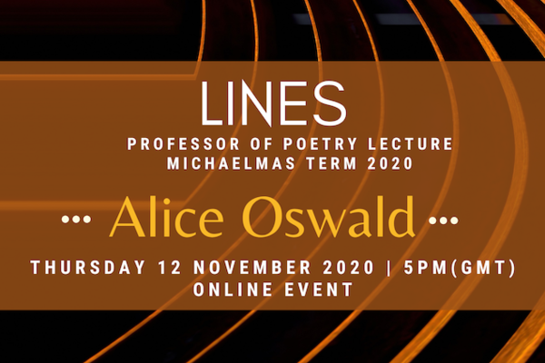 alice oswald lines poster 3 0