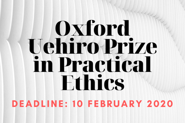 facebook oxford uehiro prize in practical ethics