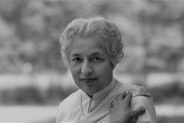 Indian diplomat and politician Vijaya Lakshmi Pandit