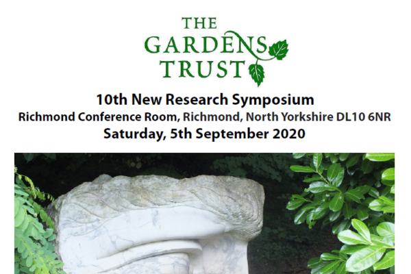 gardens trust research symposium
