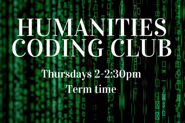 humanities coding club