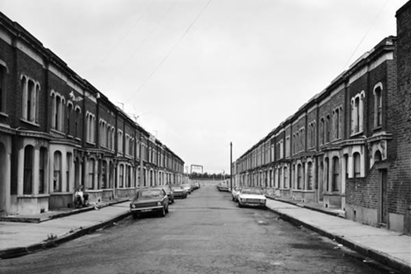 london terraced street