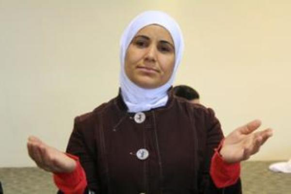 syria woman