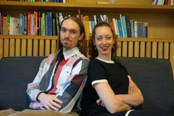Joshua Bamford and Dr Bronwyn Tarr