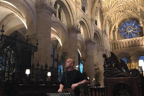 einar selvik in christ church cathedral