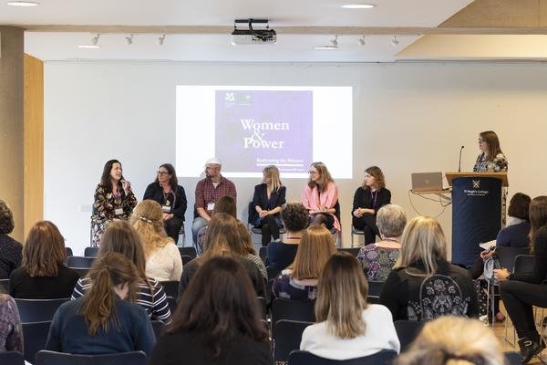 The 'Accessing Women's History' panel at the Women & Power conference © Stuart Bebb