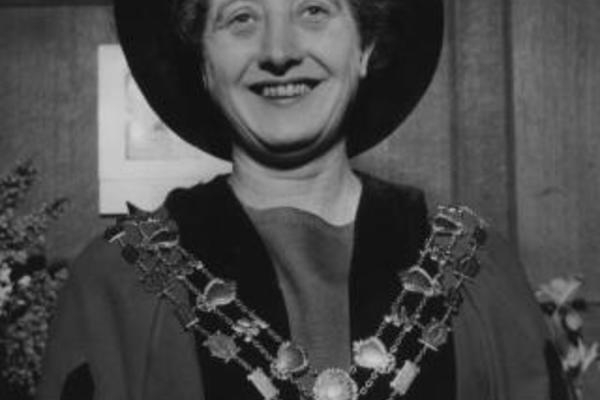 olive gibbs in 1965 on being appointed sheriff of oxford