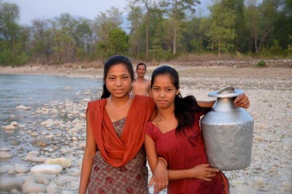 shurkhet water collection nepal smaller