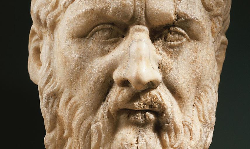plato portrait bust original capitoline museums rome