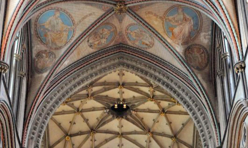 Vaulting in Salisbury Cathedral