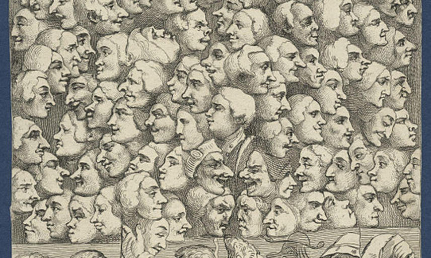 542px characters and caricaturas by william hogarth