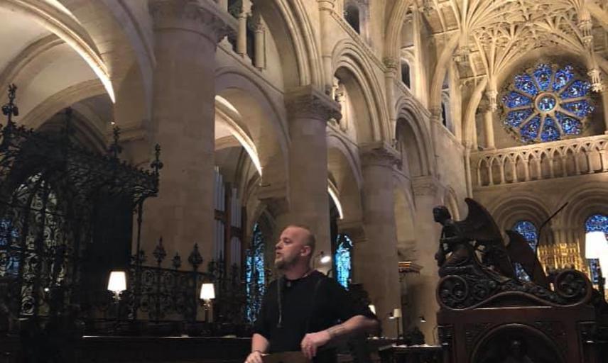 einar selvik in christ church cathedral