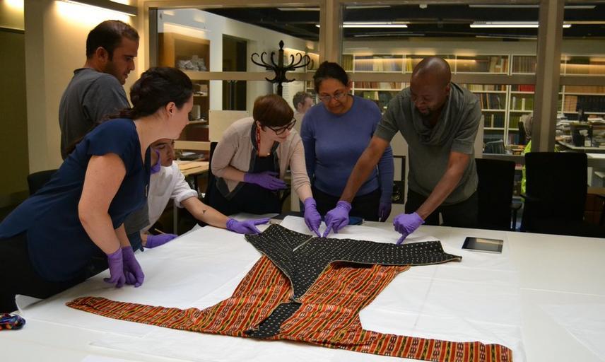 Multaka-Oxford volunteers at Pitt Rivers Museum © Pitt Rivers Museum