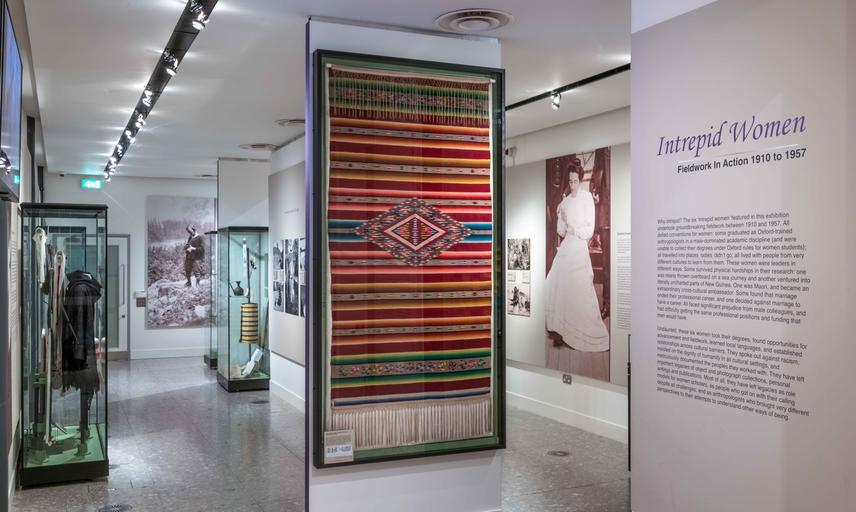 Intrepid Women, a temporary exhibition at Pitt Rivers Museum © Pitt Rivers Museum