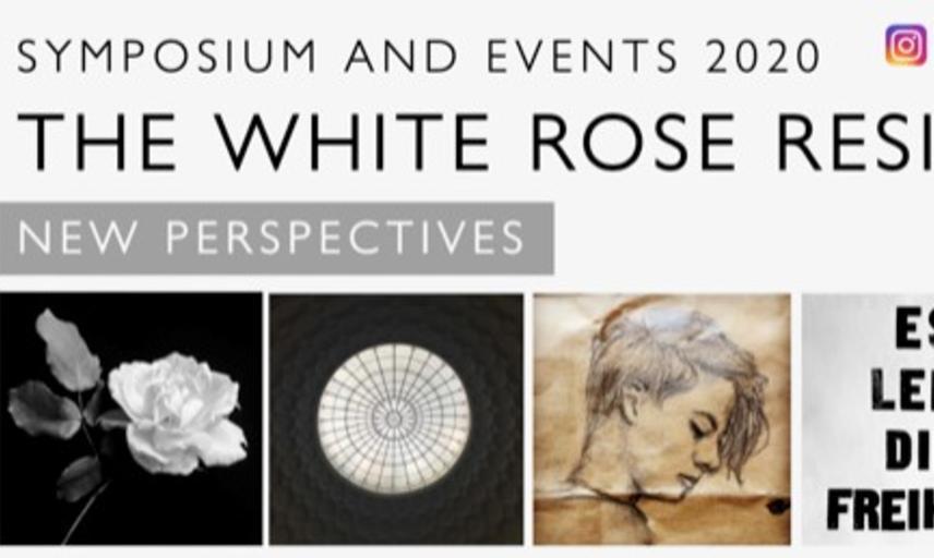 white rose symposium banner alex lloyd