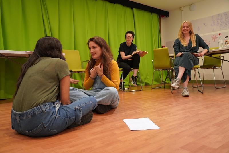 andromeda in rehearsal