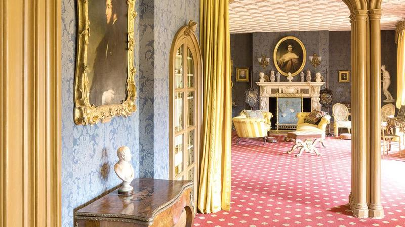 jewish country house drawing room at hughenden manor