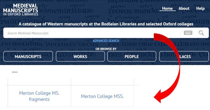 mertin manuscripts page