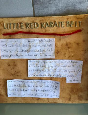 Little Red Karate Belt