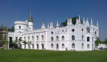 strawberry hill house from garden in 2012 after restoration