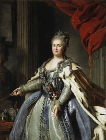 catherine ii by f rokotov after roslin c 1770 hermitage