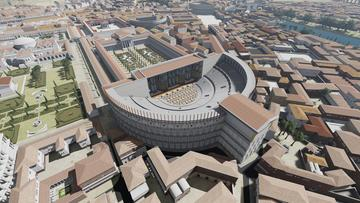 3D modelling of Roman Odeon