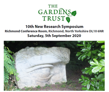 gardens trust research symposium
