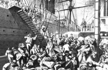 germans emigrate 1874