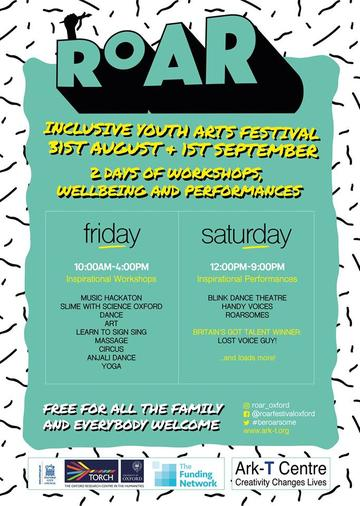 roar festival 2018 ark t