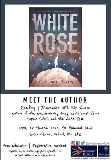white rose meet the author poster