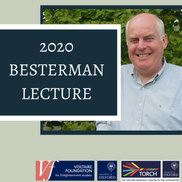 2020 Besterman Lecture