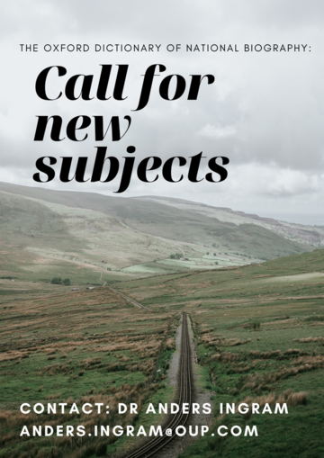 call for new subjects