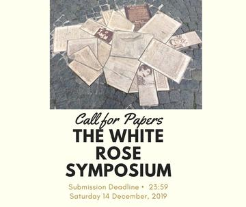 call for papers white rose