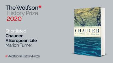 Chacuer book cover with announcement of shortlisting