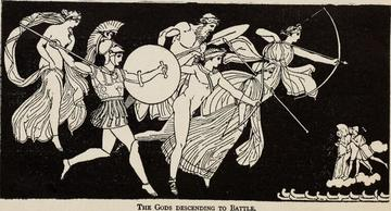Western literature begins with a plague: the Iliad. Wikimedia Commons.