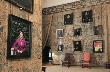 We are Bess at Hardwick Hall