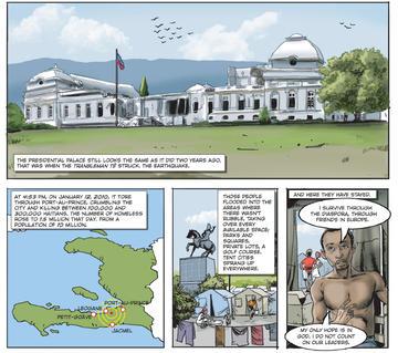 graphic narratives haiti feb 1
