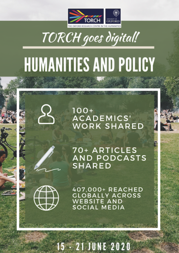 Humanities and Policy infographic