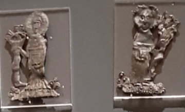 Two badges at the Ashmolean