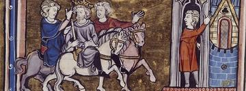 the arrival of uther pendragon and merlin at tintagel