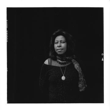 Black and white images of Scholastique Mukasonga