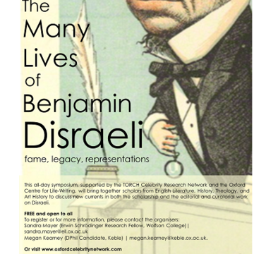 disraeli day poster