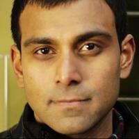Pablo Mukherjee looks directly into the camera